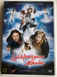 Als Der Weihnachtsmann vom himmel fiel DVD 2011 Égbőlpottyant Mikulás / Directed by Oliver Dieckmann / Starring: Alexander Scheer, Noah Kraus, Mercedes Jadea Diaz, Jessica Schwarz (5999546336368)