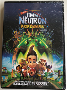 Jimmy Neutron Boy Genius DVD Jimmy Neutron A csodagyerek / Directed by John A. Davis / Starring: Patrick Stewart, Martin Short, Debi Derryberry, Rob Paulsen (5996051310180)