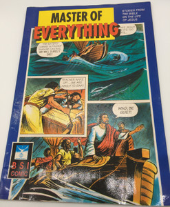 Master of Everything - Stories from the Bible on the Life of Jesus / Christian Comic Book / Bible Comic / Bible Society of India - Jesus Comics / Paperback (8122138551)