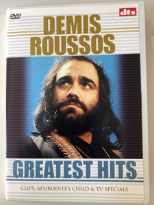 Demis Roussos DVD 2003 Greatest Hits / Clips, Aphrodite's Child & TV-Specials / BR Music - BD 3006-9 (8712089300699)