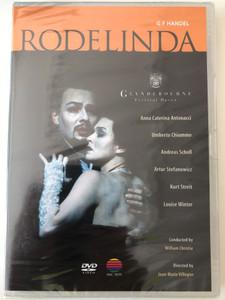 G. F. Handel - Rodelinda DVD 1998 Clyndebourne Festival Opera / Directed by Jean-Marie Villégier / Anna Caterina Antonacci, Umberto Chiummo / Conducted by William Christie / NVC Arts (0639842302425)