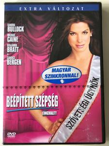 Miss Congeniality DVD 2000 Beépített szépség / Directed by Donald Petrie / Starring: Sandra Bullock, William Shatner, Ernie Hudson (5999010456264)