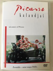 Picassos äventyr - Adventures of Picasso DVD 1978 Picasso Kalandjai / Directed by Tage Danielsson / Starring: Gösta Ekman, Hans Alfredson, Margaretha Krook (5999010449686)