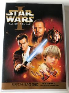 Star Wars: Episode I - The Phantom Menace DVD 1999 Star Wars I - Baljós Árnyak / Directed by George Lucas / Starring: Liam Neeson, Ewan McGregor, Natalie Portman (SWI-PhantomMenaceDVD)