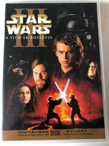 Star Wars Episode III - Revenge of the Sith 2xDVD 2005 Star Wars III - A Sith-ek bosszúja / Directed by George Lucas / Starring: Ewan McGregor, Natalie Portman, Hayden Christensen (RevengeOfTheSithDVD)