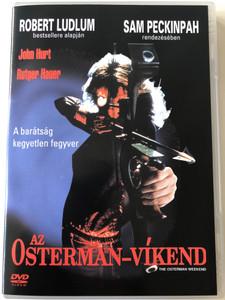 The Osterman Weekend - Az Osterman-Víkend DVD 1983 / Directed by Sam Peckinpah / Starring: Rutger Hauer, Dennis Hopper, Burt Lancaster, John Hurt (5999010451962)