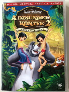 The Jungle Book 2 DVD A Dzsungel könyve 2. Extra Változat / Directed by Steve Trenbirth / Starring: Haley Joel Osment, John Goodman, Mae Whitman, Bob Joles (5996255726718)