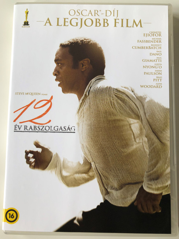 12 Years a Slave DVD 2013 12 év rabszolgaság / Directed by Steve McQueen / Starring: Chiwetel Ejiofor, Michael Fassbender, Benedict Cumberbatch, Paul Dano (5996514017885)