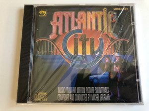 Atlantic City / Music from the Motion Picture Soundtrack / Composed by Michel Legrand / DRG Records Audio CD / CDRG 6104