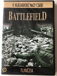 Battlefield - The Battles for Tunisia DVD 1995 Tunézia / Directed by Julian Overall, Audrey Healy, Trevor Green / Narrated by Jonathan Booth / WW2 Documentary (5999883277010)