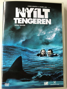 Open Water DVD 2003 Nyílt tengeren / Directed by Chris Kentis, Laura Lau / Starring: Blanchard Ryan, Daniel Travis, Saul Stein (5999544251045)