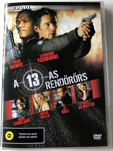 Assault on Precinct 13 DVD 2005 A 13-as rendőrörs / Directed by Jean-Francois Richet / Starring: Ethan Hawke, Laurence Fishburne (5999545584036)