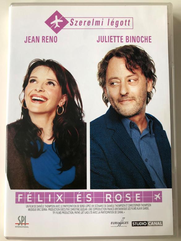 Jet Lag DVD 2002 Félix és Rose (Décalage Horaire) / Directed by Danièle Thompson / Starring: Jean Reno, Juliette Binoche (5999544150164)