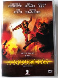 The Musketeer DVD 2001 A Muskétás / Directed by Peter Hyams / Starring: Catherine Deneuve, Mena Suvari, Stephen Rea, Tim Roth, Justin Chambers (5999544150126)