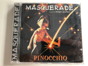 Masquerade ‎– Pinocchio / Produced by Boris Midney / Unidisc ‎Audio CD / SPLK-7147