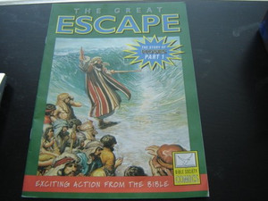 The Great Escape. The story of Moses Part 1 [Paperback] by Anonymous