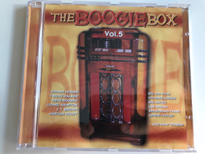 The Boogie Box Vol. 5 / Johnny Moore, T-Bone Walker, Gene Rogers, Lionel Hampton, J.T. Brown, Marylin Scott, Big Jim Wynn, Wynonie Harries, Big Maceo, Lee Brown, Armstrong Twins, Spade Cooley, and many others / Tim Cz ‎Audio CD 2001 / 205540-202