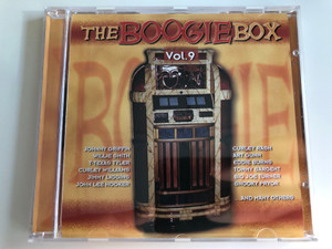 The Boogie Box Vol. 9 / Johnny Griffin, Willie Smith, T-Texas Tyler, Curley Williams, Jimmy Liggins, John Lee Hooker, Curley Rash, Art Gunn, Eddie Burns, Tommy Sargent, Big Joe Turner, Snooky Pryor, and many others / Tim Cz ‎Audio CD 2001 / 205544-202