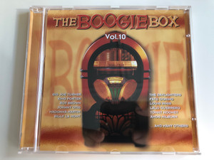 The Boogie Box Vol. 10 / Big Joe Turner, King Porter, Roy Brown, Johnny Otis, Madonna Martin, Billy La Mont, The Daylighters, Fats Domino, Louis Innis, Lalo Guerrero, Tommy Mooney, Amos Milburn, and many others / Tim Cz ‎Audio CD 2001 / 205545-202