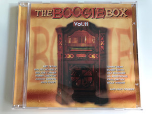 The Boogie Box Vol. 11 / Art Tatum, Big Jay McNeely, Big Joe Turner, Harry Crafton, Johnny Griffin, King Perry, Tommy Dean, Bobby Smith, Milt Buckner, Lil Armstrong, Paul Gayten, Billy Wright, and many others / Tim Cz ‎Audio CD 2001 / 205546-202