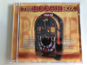 The Boogie Box Vol. 12 / Louis Jordan, J.T. Brown, Ralph Sutton, Ray Mc Kinley, Freddie Mitchell, Cecil Payne, Bobby Smith, Marylin Scott, Bertha Henderson, Van Walls, Paul Gayton, Billy Wright, and many others / Tim Cz Audio CD 2001 / 205547-202
