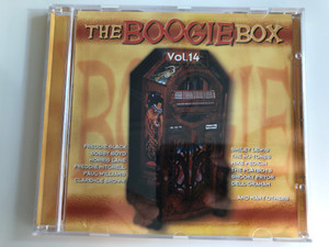 The Boogie Box Vol. 14 / Freddie Slack, Bobby Boyd, Morris Lane, Freddie Mitchell, Paul Williams, Clarence Brown, Smiley Lewis, The Nu-Tones, Mike Pedicin, The Playboys, Snooky Pryor, Dell Graham, and many others / Tim Cz ‎Audio CD 2001 / 205549-202