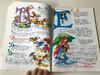 Zengő ABC / Móra Ferenc versének soraira írta Rigó Béla / Zene-Music: Lukácsy Katalin / Illustrations Rusz Lívia / Hercules Kiadó / Hungarian Musical ABC (ZengőABC)
