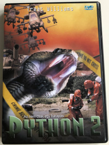 Venomous DVD 2001 Python 2 / Directed by Ed Raymond / Starring: Treat Williams, Mary Page Keller, Hannes Jaenicke (5998329507735)
