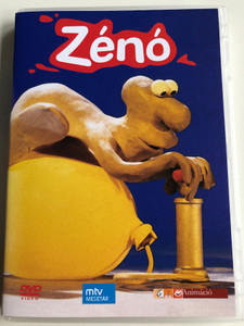Zénó DVD 1985 / Hungarian Stop motion animated series / Directed by Cakó Ferenc / Magyar televíziós gyurmafilmsorozat / 22 episodes - 22 rész (5999544241749)