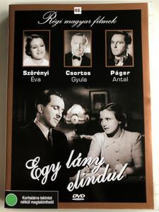 Egy lány elindul DVD 1937 / Directed by Székely István / Szereplők: Szörényi Éva, Csortos Gyula, Páger Antal, Mezey Mária / Régi magyar filmek 46. (5999882685458)