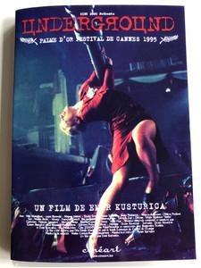 Underground DVD 1995 Подземље - Podzemlje / Directed by Emir Kusturica / Starring: Miki Manojlović, Lazar Ristovski, Mirjana Joković, Slavko Štimac (5414218903490)