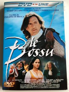 Le bossu DVD 1997 On guard / Directed by Philippe de Broca / Starring: Daniel Auteuil, Marie Gillain, Vincent Perez, Fabrice Luchini (3294333016693)