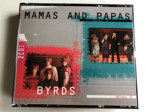 Mamas And Papas - Byrds ‎/ Mastertone ‎2x Audio CD 1996 / CP 6102