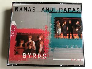 Mamas And Papas - Byrds / Mastertone 2x Audio CD 1996 / CP 6102