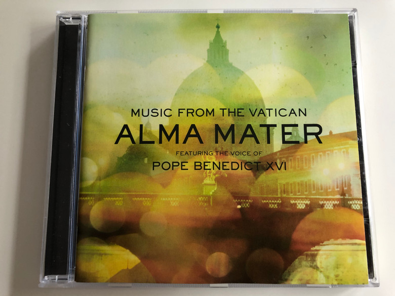 Music From The Vatican – Alma Mater / Featuring The Voice Of Pope Benedict XVI / San Paolo Audio CD 2009 / 2719619
