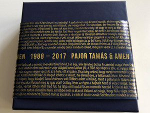 PAJOR TAMÁS & AMEN 1988-2017 Összesítő Album / 11 CD album + szövegkönyv + 1 DVD díszdobozban / Hungarian Christian Rock Band Ultimate Limited Edition Collector's Box