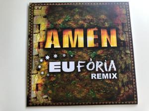 Amen - EuFória Remix / Ámen Eufória Remix 1998 / Lesz mégis, Mi leszel, Felszabadítasz / Audio CD 2017 (Amen-EuForiaRemix2017)