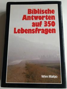 Biblische Antworten auf 350 Lebensfragen by Wim Malgo / German book about Biblical answers to 350 life questions / Verlag Mitternachtsruf / Hardcover (385810115X)