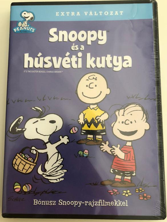 It's the Easter Beagle, Charlie Brown DVD 1974 Snoopy és a húsvéti kutya / Directed by Phil Roman / Voices: Todd Barbee, Melanie Kohn, Stephen Shea, Lynn Mortensen (5999048923776)