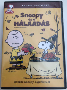 A Charlie Brown Thanksgiving DVD 1973 Snoopy és a hálaadás / Directed by Bill Melendez, Phil Roman / Voices: Bill Melendez, Todd Barbee, Stephen Shea (5999048922793)