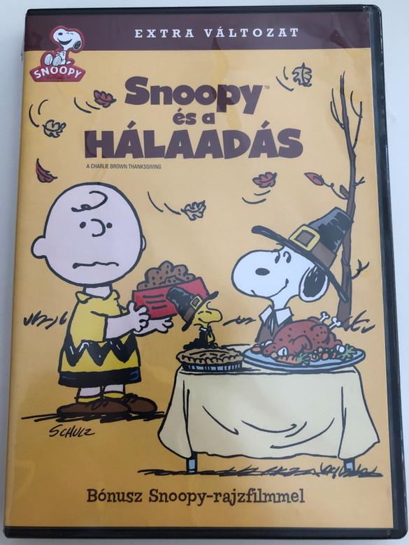A Charlie Brown Thanksgiving DVD 1973 Snoopy és a hálaadás / Directed by Bill Melendez, Phil Roman / Voices: Bill Melendez, Todd Barbee, Stephen Shea (5999048922793)