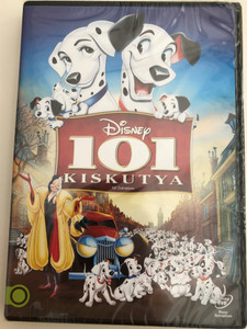 101 Dalmatians (101 Kiskutya) DVD 1961 - Disney / Directed by Wolfgang Reitherman, Hamilton Luske, Clyde Geronimi / Starring: Rod Taylor, Cate Bauer, Betty Lou Gerson, Ben Wright, Lisa Davis (5996514015928)