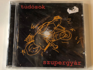 Tudósok ‎– Szupergyár = Superfactory / Bahia ‎Audio CD / CDB 075
