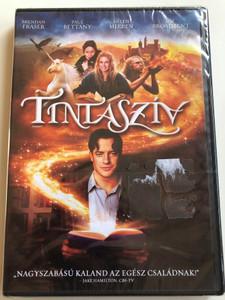 Inkheart DVD 2009 Tintaszív / Directed by Iain Softley / Starring: Brendan Fraser, Paul Bettany, Helen Mirren, Jim Broadbent (5999048925954)