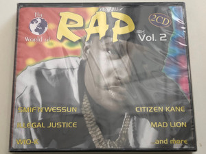 The World Of Rap 2 / Smif'n'Wessun, Illegal Justice, Wio-K, Citizen Kane, Mad Lion, and many more / ZYX Music 2x Audio CD 1998 / ZYX 11107-2