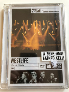 Westlife - Live At Wembley DVD 2006 / Directed by Nick Wickham / Visual milestones / Uptown Girl, The Dance, Queen of my Heart, You raise me up / Sony BMG (886973602799)