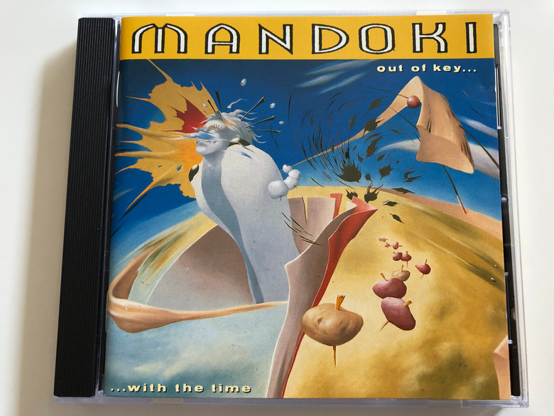 Mandoki ‎– Out Of Key... With The Time / Electrola ‎Audio CD 1992 / 1C 564-799 504 2