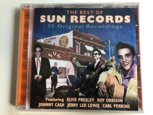 The Best Of Sun Records / 20 Original Recordings / Featuring Elvis Presley, Roy Orbison, Johnny Cash, Jerry Lee Lewis, Carl Perkins / Prism Leisure Audio CD 2005 / PLATCD1298