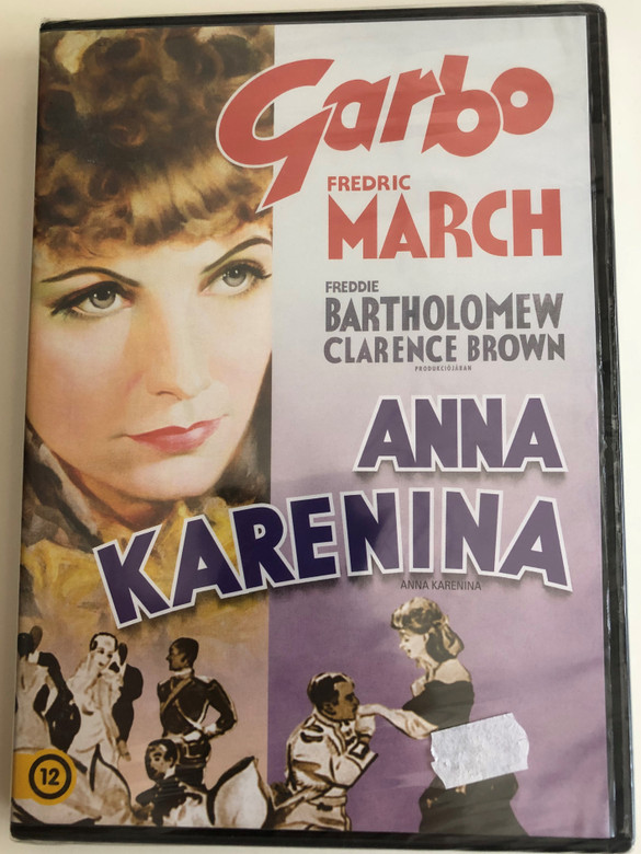 Anna Karenina DVD 1935 / Directed by Clarence Brown / Starring: Greta Garbo, Fredric March, Freddie Bartholomew / B&W Metro-Goldwyn-Mayer classic (5996514012088)