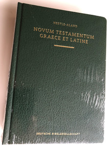 Novum Testamentum Graece et Latine (Nestle-Aland) / Greek and Latin New Testament / Deutsche Bibelgesellschaft / Nestle-Aland NT / Green Hardcover (9783438051639)
